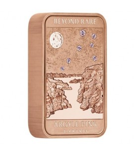 Lake Argyle Pink Diamond 2018 10oz Gold Ingot