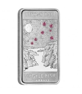 Lake Argyle Pink Diamond 2018 1oz Platinum Ingot