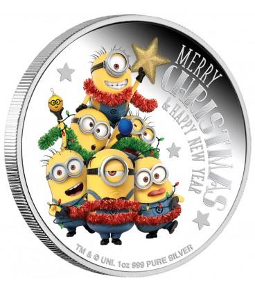 MINION MADE – Season's Greetings 1oz Silver Proof Coin
