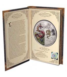 Dragons - The Four Dragons 2oz Silver Coin