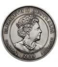 Queen Victoria 200th Anniversary 2019 2oz Silver Antiqued Cameo
