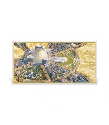 Expo 2020 Dubai - 1g Gold Foil