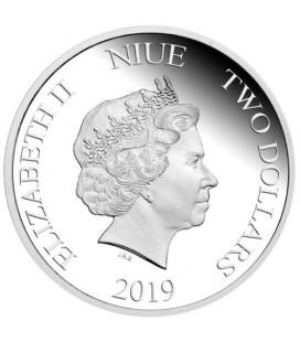 Minion Christmas 2019 1oz Silver Proof Coin