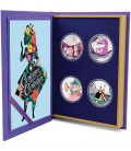 Alice In Wonderland 4 X 1oz Silver Coin Set