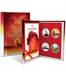 The Lion King 4x1oz Silver Coin Set