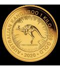 Australia 1 kilo Gold Kangaroo BU-2020