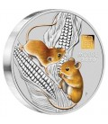 Lunar Coin Series III 2020 Year of the Mouse 1 Kilo Silver Coin