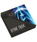 Starfleet Command Emblem 2019 3oz Silver Holey Dollar & Delta Coin