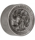 Kookaburra 2020 2 Kilo Silver Antiqued High Relief Coin