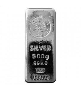 Emirates 500 gram Silver Bar
