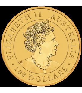 1 oz Australian Gold Kangaroo Coin (BU)-2020