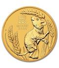 Australia 10 oz Gold Lunar Mouse BU-2020
