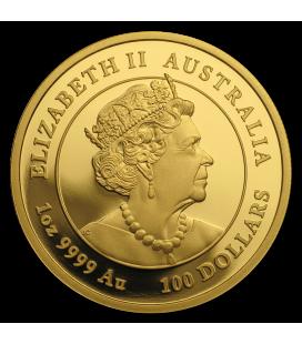 Australia 1 oz Gold Lunar Mouse BU-2020