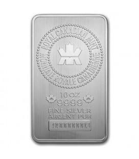 10 oz Royal Canadian Mint (RCM) Silver Bar