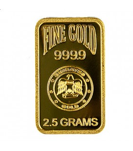 EMIRATES  2.5 GRAM GOLD BAR