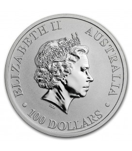 Australia 1 oz Platinum Kangaroo BU