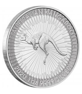 Australian Kangaroo 1 Oz. Silver Bullion Coin-2020
