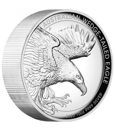 Wedge-tailed Eagle 2020 10oz Silver Proof High Relief Coin