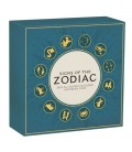 Signs of the Zodiac 2020 5oz Silver Antiqued Coloured Coin