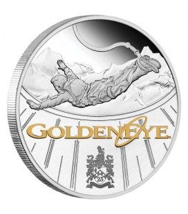 James Bond GoldenEye 25th Anniversary 2020 1oz Silver Proof Coin