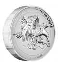 Wedge-tailed Eagle 2021 1oz Silver Enhanced Reverse Proof