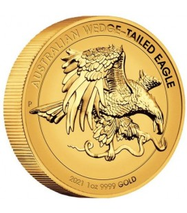 Wedge-tailed Eagle 2021 1oz Gold Enhanced Reverse Proof