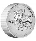 Wedge-tailed Eagle 2021 5oz Silver Enhanced Reverse Proof