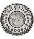 Tears of the Moon 2021 2oz Silver Ant. Coin