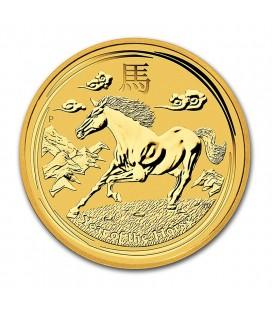 1 kg Australian Gold Lunar Series 2014 - Year of the Horse