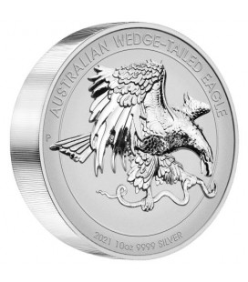 Wedge-tailed Eagle 2021 10oz Silver Reverse Proof Ultra High