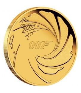 007 James Bond 2020 1/4oz Gold Proof Coin