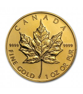 Canadian Gold Maple Leaf Bullion Coin