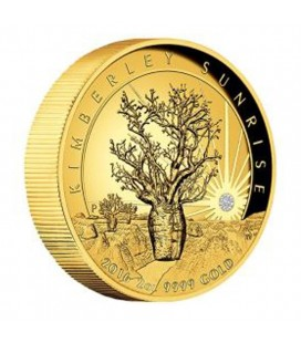 Kimberly Sunrise 2016 2oz Gold Proof High Relief Coin