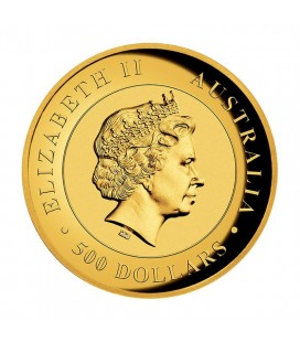 KIMBERLEY SUNRISE 2016 2OZ GOLD PROOF HIGH RELIEF COIN