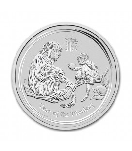 1 oz silver coin - 2016 Australian Lunar Series II - Perth Mint - Monkey