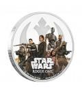 Star Wars: Rogue One - Rebellion 1 Oz Silver Coin