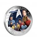 Star Trek: The Original Series – U.S.S. Enterprise NCC-1701 Crew 2016 2oz Silver Proof Coin