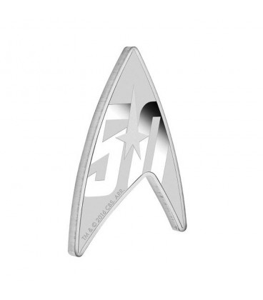 Star Trek: The Original Series – 50th Anniversary 2016 1oz Silver Delta Coin