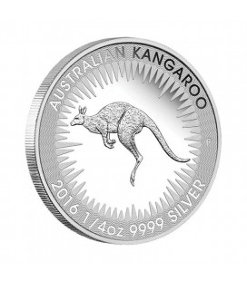 Kangaroo 2016 1/4oz Silver Proof Coin