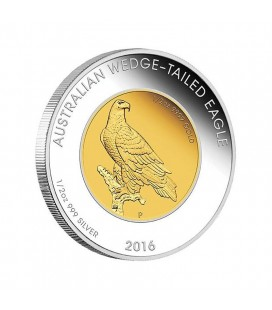 Wedge-tailed Eagle 2016 1oz Bi-metal Coin