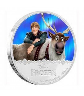 Disney Frozen - Kristoff & Sven 1oz Silver Proof Coin