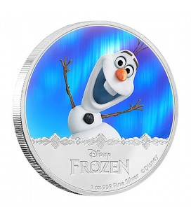 Disney Frozen Silver Coin - Olaf