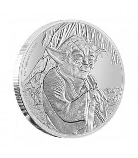 Star Wars Classic: Yoda 1 Oz Silver Coin