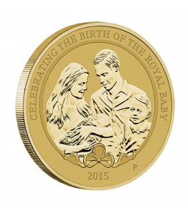 Royal Baby 2015 Stamp & Coin Cover