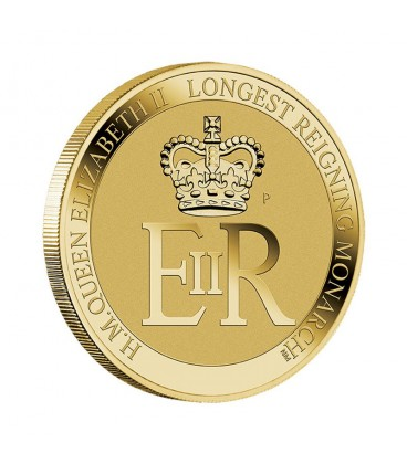 Long May She Reign Stamp and Coin Cover