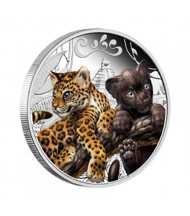 Cubs – Jaguar 2016 1/2oz Silver Proof Coin