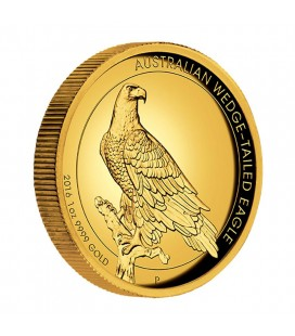 WEDGE-TAILED EAGLE 2017 1OZ GOLD PROOF HIGH RELIEF COIN