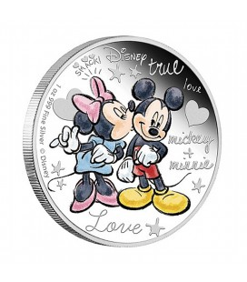 Disney Silver Coin - Crazy In Love