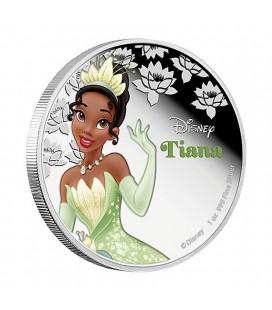 Disney Silver Coin - Tiana