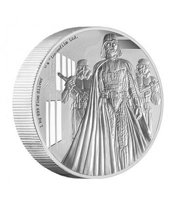 Star Wars Classic: Darth Vader 1 Kilo Silver Coin